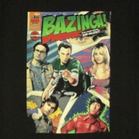 Bazinga Comic Shirt