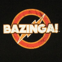 Vintage Bazinga Flash Style Shirt