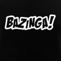Black Bazinga! UK shirt