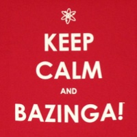 Keep Calm Bazinga Big Bang Theory Shirt