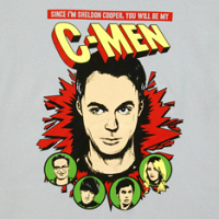 Sheldon Cooper C-Men Shirt