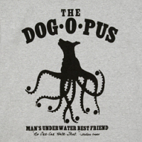 Sheldon's Dogopus on a shirt!