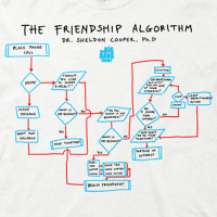 Friendship Algorithm Shirt
