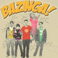Big Bang Theory Group Bazinga Shirt
