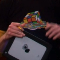 Melted Rubik Cube Shirt