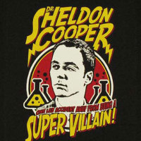 Sheldon Supervillain Shirt