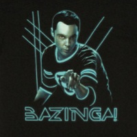 Glowing Sheldon Bazinga Shirt