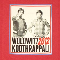 Wolowitz Koothrappali 2012 Election Style Shirt